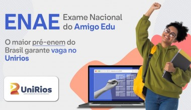 Participe do ENAE, simulado on-line e gratuito do ENEM: Nota é usada como forma de ingresso no UniRios